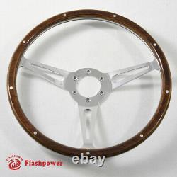 15'' Classic Wood Grain Flywheel For Austin Heatey 100.3000, Sprite