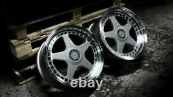 17 Silver Dr-f5 Wheels Alloy For Bmw E36 Mini Countryman Paceman Jc R60 R61