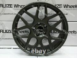 18 Grey Cr1 Alloy Wheels For Bmw Mini F54 F55 F56 F57 Clubman Clubvan 5x112