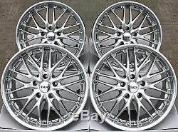 19 Wheels Alloy Cruize 190 Sp Silver Polished Deep 5x112 19 Inch Alloys