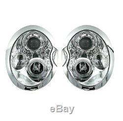 2 Headlights Angel Eyes Bmw Mini Cooper & Mini One R50 R52 R53