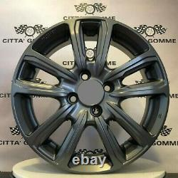 4 Alloy Wheels Compatible Mini Cabriolet Cooper S, Clubman One Cup 17