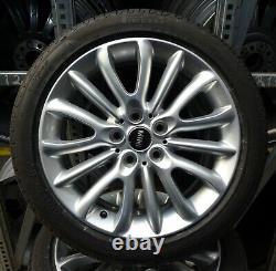 4 Mini Summer Wheels Net Spoke 519 225/45 R17 Mini Clubman F54 6856047 Pirelli Rdk