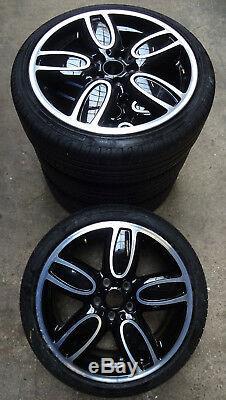 4 Mini Wheels Summer Jcw Cup Spoke 563 220/40 R18 86w F55 F56 F57 6858900 Rdk