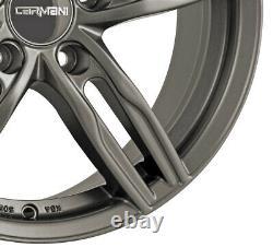 4 Rims Carmani 14 Paul 7.5x17 Et52 5x112 Hyp For Mini Mini