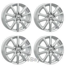 4 Rims & Tires Winter Skandic Ece 195/55 R16 87h 16j Sil For Mini Mini Contin