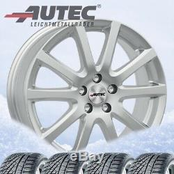 4 Rims & Tires Winter Skandic Ece 195/55 R16 87t Sil 16j Mini Mini Hankoo