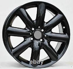 4x 883 Black New Rims 17 4x100 Mini One Cooper
