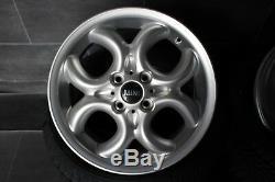 4x Original Mini One D Clubman Cooper 6,5jx 16 Inch Rims 4x100 Et48 6791942
