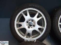 4x Original Mini One D Cooper R50 R52 R53 5.5j X 16 Inch Alloy Wheels