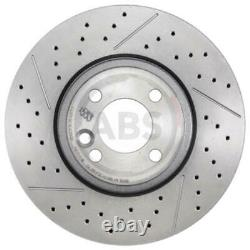 A.b. S. 2x Fendue Brake Discs / Perforated Covered 18298