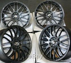 Alloy Wheels 17 G X4 Alcar Motion 4x100 Bmw Mini R50 R52 R55 R56 R57 R58