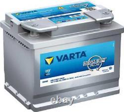 Battery Varta Start-stop Silver Dynamic Agm 60ah / 680a (d52)