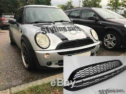 Black Grille Suitable For Mini One Cooper S R50 R53 R52