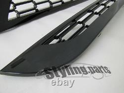 Black Suitable Grille For Mini One Cooper S D R50 R53 R52