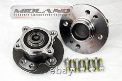 Bmw Mini 2001-06 R50 R52 R53 Petrol And Diesel Pair Rear Wheel New Hub