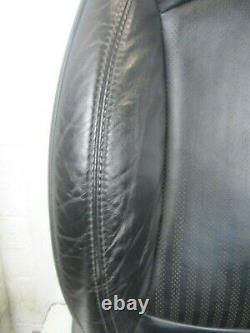 Bmw Mini Black Heated Punch Leather Interior / Seat Set True R56