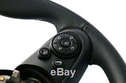 Bmw Mini Cooper F55 F56 F60 Sports Leather Steering Wheel Multifunction Radius 3