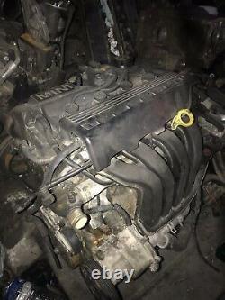 Bmw Mini Cooper One 1.6 R50 R52 Essence Engine Culasse And Block