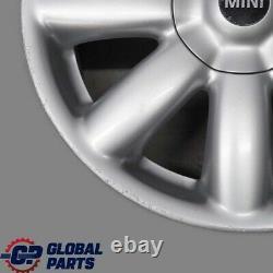 Bmw Mini Cooper One R50 R55 R56 Wheel Alloy 17 7j Crown Spoke 104 6769411