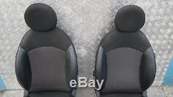 Bmw Mini Cooper One R56 Sport Half Black Leather Interiors Seating With Airbag