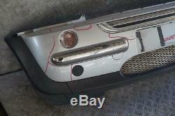 Bmw Mini Cooper R50 Before 6 Complete Bumper Panel Pure Silver Metallic