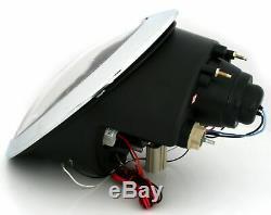 Bmw Mini Cooper R50 R52 R53 01-06 Angel Eyes Black Lpm