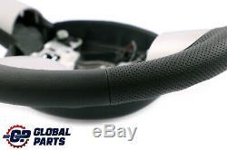 Bmw Mini Cooper R50 R52 R53 Nine Black Leather Sports Steering 6762457