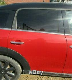 Bmw Mini Cooper S Countryman R60 Rear Right Door (blazing Red B63)