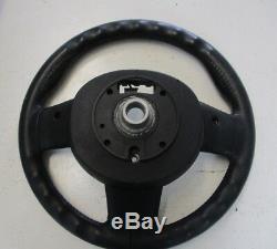 Bmw Mini R55 R56 R57 Sports Leather Multifunction Steering Wheel 9200098