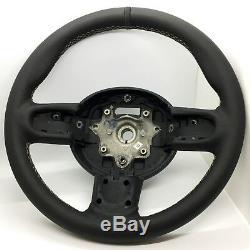 Bond Street Sports Wheel Black Leather Mini R56 R55 Clubman Cooper S Jcw