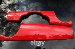 Brilliant Red Interior For Mini One Cooper R55 R56 R57 R58 R59 Habitacle
