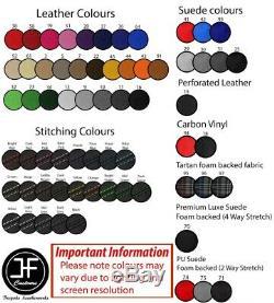 Brown Surpiq Top Skate Board Leather Cover For Bmw Mini R55 R56 R57
