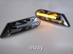Flashing Union Jack Black For Mini One Cooper S R56 R55 R57 R58 Ab 11/2006