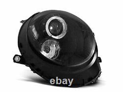 For Mini Cooper R55 R56 R57 R58 R59 06-14 Angel Eyes Black
