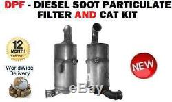 For Mini One D Cooper R56 2009- Dpf Diesel Soot Filter And Kit Cat