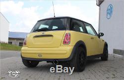 Fox Sport Exhaust Muffler Mini One / Cooper R50 1,6l 66/85 / 88kw
