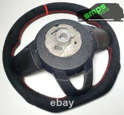 Gen 3 F56 Black & Red Complete Alcantara Steering Wheel Manual, Jcw Pro