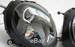 Headlights Lot Led Angel Eyes Rings Parking Light Bmw Mini Cooper Black
