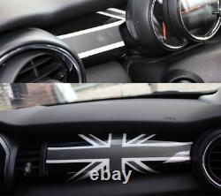Home Interior Union Jack Black Convenient For Mini One Cooper F56 F55 F57