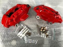 Kit Big Brake Caliper 4 Pistons Front Red For Mini Cooper S Jcw One R56
