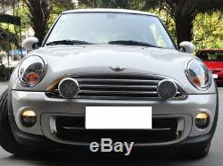 Led Drl Bar Front Lights Headlight For Bmw Mini Cooper R55 R56 R57 R58 R60 R61 Black