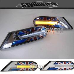 Led Indicator Side Union Jack Color For Mini One Cooper S S R56 R55 R57 R58