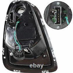 Lightbar Led Rear Lights For Bmw Mini R56 R57 Convertible 06-10 Smoke Clear