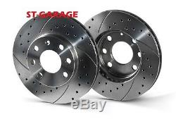 Mini Clubman (r55) Front Brake Discs Grooved / Drilled 280 MM