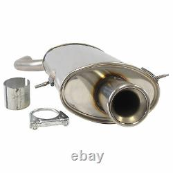 Mini Cooper One R50 Silent Sport Stainless Stainless Escape Esd In 1x90mm With Eg