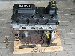 Mini Cooper R50 W10b16a Engine 66kw-85kw 96.000km New Chain + Head Gasket