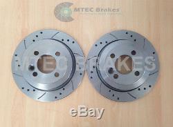 Mini Cooper S Performance Brake Discs Front & Rear Mintex Pads 02-06