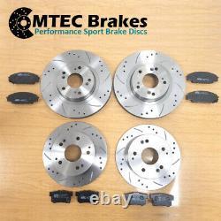 Mini Cooper S R53 01-06 Front Brake Discs Rear & Mtec Fast Road