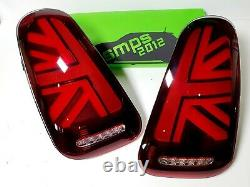 Mini Gen 1 Led Red Union Jack Rear Lights R52, 2004-2007 LCI